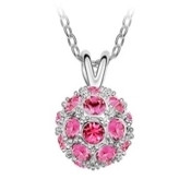 SWAROVSKI® Elements 23 Stone Ball Pendant