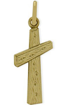 14 Karat Yellow Gold Baby Cross