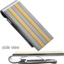Men's Designer Two-Tone Money Clip