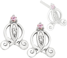 Disney® Cinderella Carriage Diamond Earrings