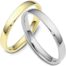Traditional 3mm Comfort Fit Wedding Band