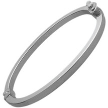 Genuine Sterling Silver High Polish Baby Bangle