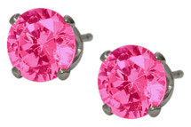 6mm SWAROVSKI® Elements Rose Crystal Stud Earrings