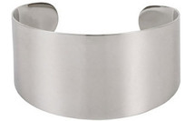 Stainless Steel Thick Cuff Bracelet