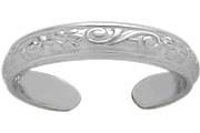 Genuine Sterling Silver Toe Ring