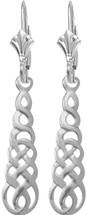 Celtic Genuine Sterling Silver Earrings