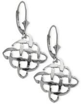Genuine Sterling Silver Celtic Knot Earrings