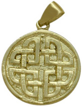 10 Karat Yellow Gold Celtic Knot Pendant