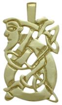 10 Karat Yellow Gold Celtic Kells Pendant