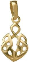 10 Karat Yellow Gold Celtic Pendant