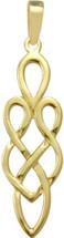 10 Karat Yellow Gold Celtic Style Pendant