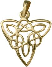 10 Karat Yellow Gold Celtic Style Knot Pendant
