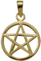 10 Karat Yellow Gold Celtic Star Pendant