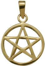 10 Karat Yellow Gold Celtic Star Pendant