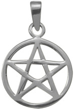 Genuine Sterling Silver Celtic Star Pendant with chain