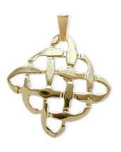 Yellow Gold Celtic Knot Pendant