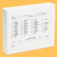 "[M3] MARCHING BAND MUSI-FILE BOX -- 6.5"" X 8"" x 1.5"" DEEP"
