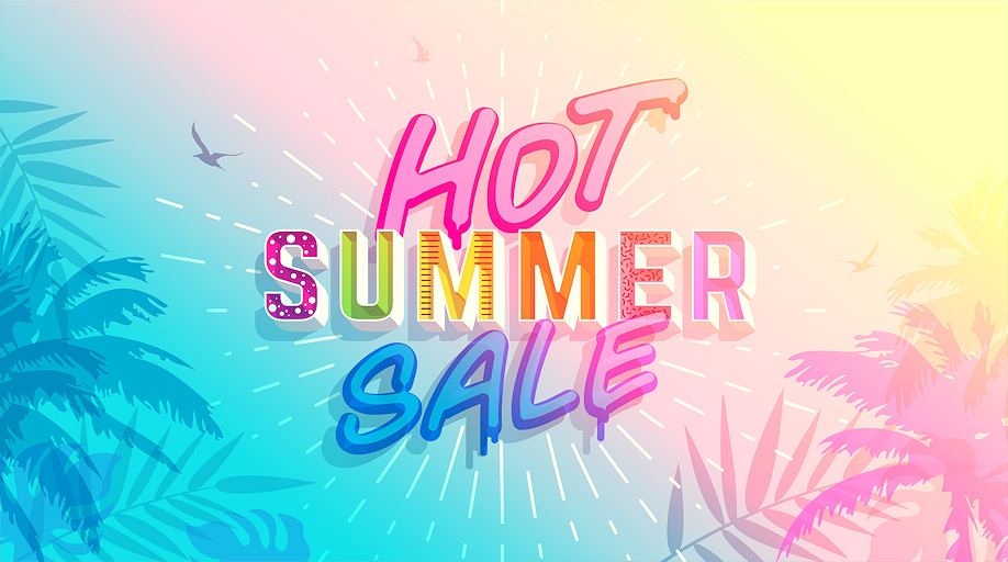 Big savings in our Summer sale!