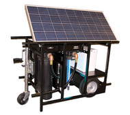 Aqua Sun Outpost S - Solar Powered Water Purification System
