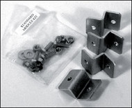 Universal RV Mounting Feet Z Brackets