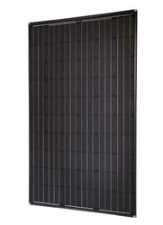 SolarWorld 270w Mono module, Black 31mm