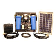 Aqua Sun Villager S1 - Solar Powered Stationary Water Purification System