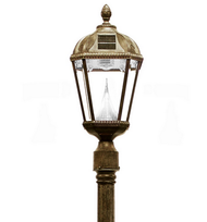 Gama Sonic Royal Solar Lamp Post