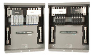 Shown with optional breakers or fuses