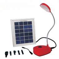 Solarland solar desk lamp and charger
