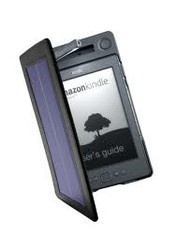 SolarFocus Solar lighted cover for the Kindle 4