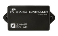 Zamp 3 Stage 6 Amp PWM Waterproof Solar Charge Controller
