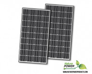 Nature Power 330 Watt Monocrystalline Solar Panels