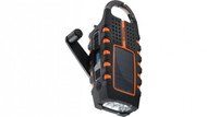 Eton Scorpion solar-powered, smartphone-charging weather radio and flashlight