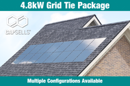 Capsells 4.8kW Grid Tie Package