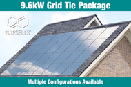 Capsells 9.6kW Grid Tie Package