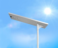 7400 Lumen Solar Street Light / Parking Lot Light – 60 Watt LED