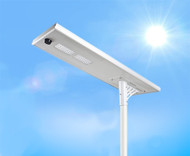 5000 Lumen Solar Street Light / Parking Lot Light – 40 W LED
