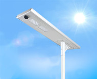 3700 Lumen Solar Street Light / Parking Lot Light – 30 Watt LED