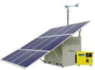 Hybrid Portable Solar-Wind Generator