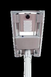 4000 Lumen Solar Street Light / Parking Lot Light – 20 Watt LED