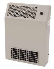 Front view of the Slimline Hydroxyl Generator and Air Purifier in tan.