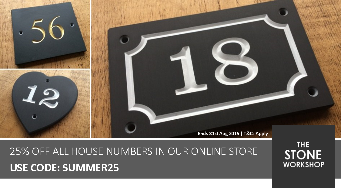 Lakeland Slate House Number Sale