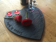 Heart Personalised Cheese Board