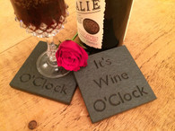 Quirky sayings coaster