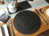 Smiley Face Round Placemat