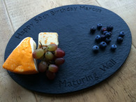 Oval Personalised Cheese Board From