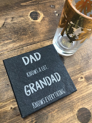 Dad knows a lot. Grandad knows everything.