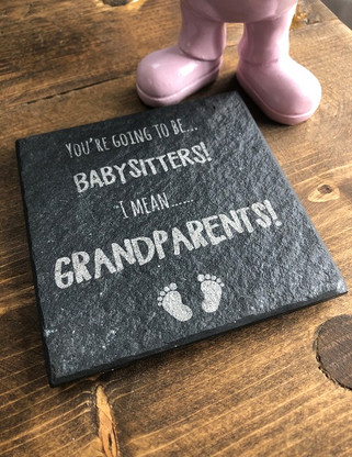 You're going to be babysitters! I mean... Grandparents!
