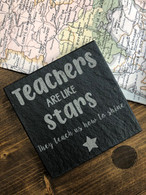 Teachers are like stars They teach us how to shine