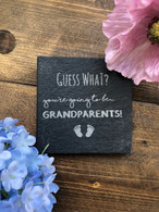 Guess what? You're going to be grandparents